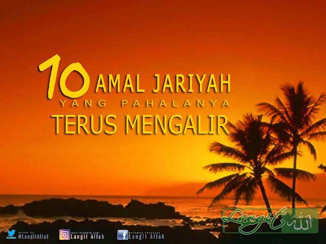 10 Amal Jariyah Yang Pahalanya Terus Mengalir (www.langitallah.com)