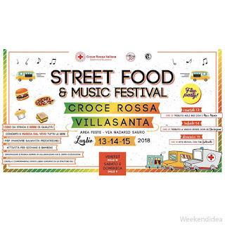 Street Food e Music Festival 13-14-15 luglio Villasanata (MB)