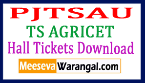 TS AGRICET Hall Tickets Download 2018