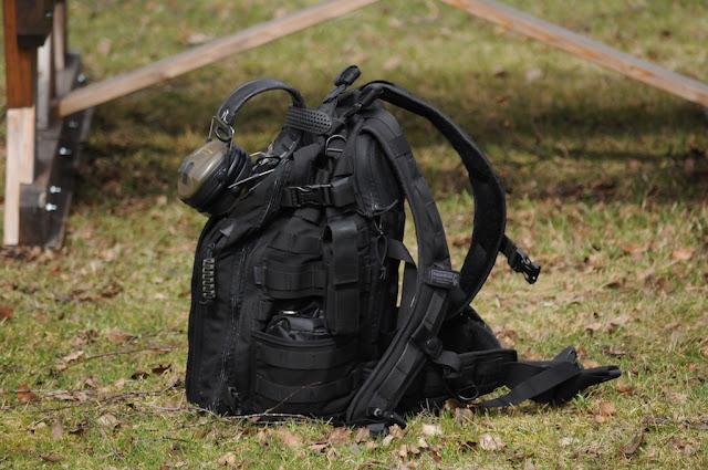 Borttappad svart ryggsäck i tyg Lager157 | Stockholm