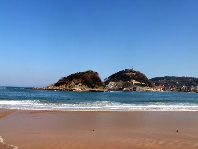 playa principal san sebastián