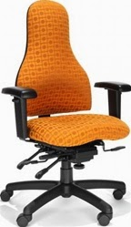 RFM Seating Carmel High Back Ergonomic Chair 8235