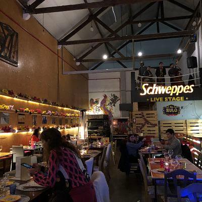 Lisboa. Restaurante el Bulo.