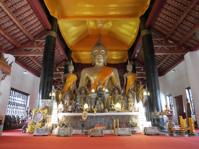 the main temple hall at Wat Visoun, Luang Prabang