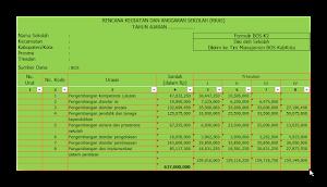 Aplikasi RKAS BOS Otomtis 2016/2017