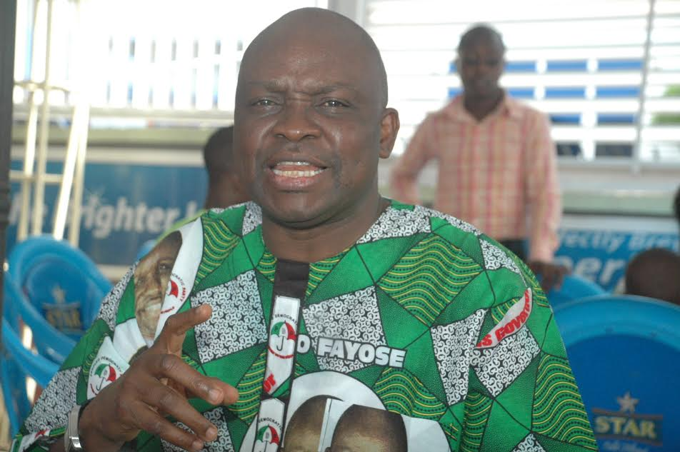 You hit me, you die, I hit you, you die- Ayo Fayose