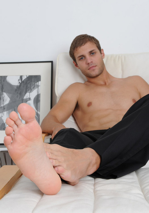 white bare foot naked males