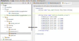 Preview String.xml di Android Studio