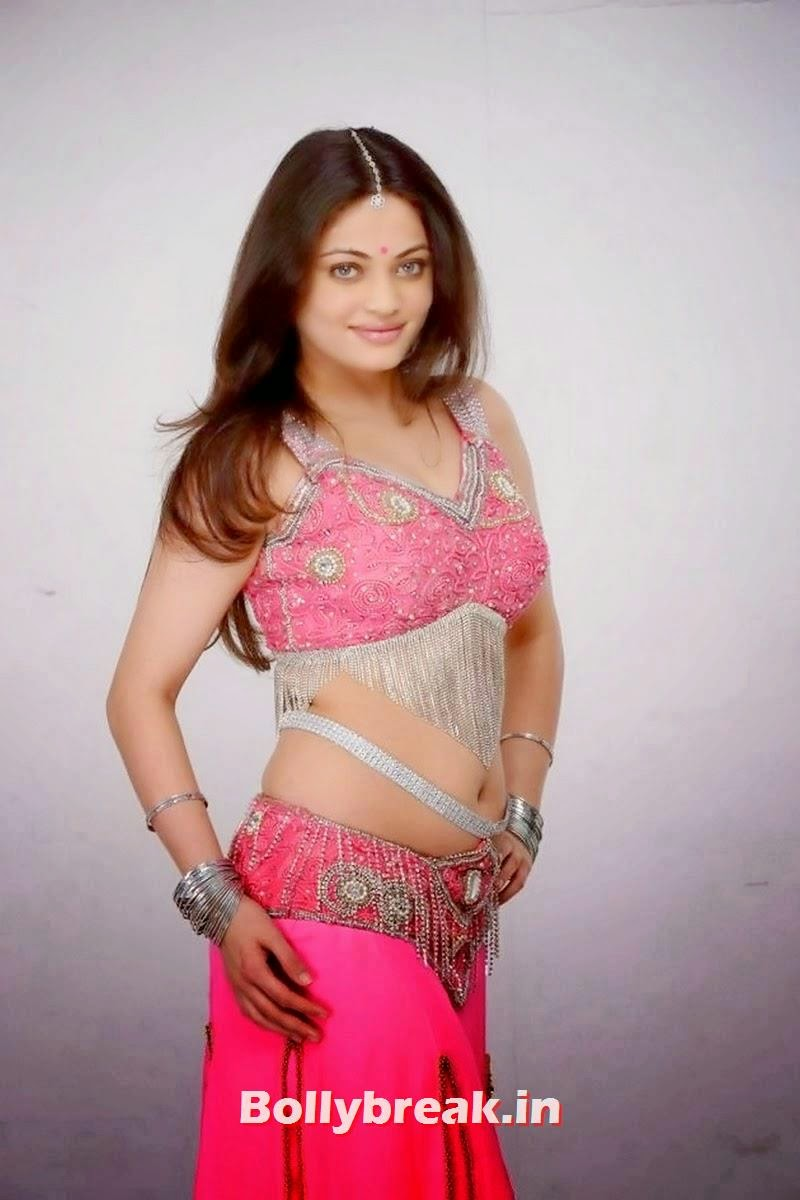 , Sneha Ullal Pics in Pink Ghagra Choli
