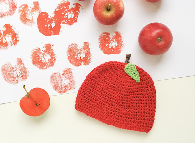 Eine Anleitung Für Eine Zuckersüße Apfel Babymütze Zuckersüße