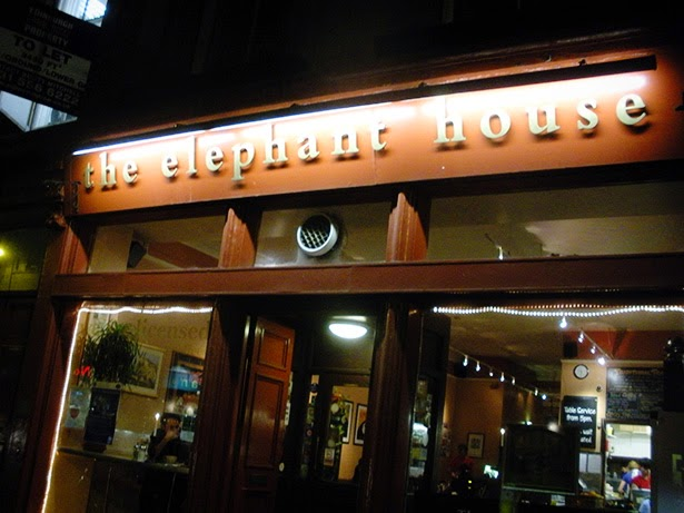 The Elephant House in Edinburgh, Scotland