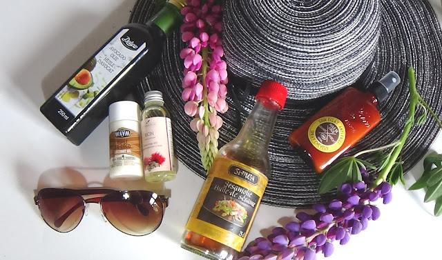 huile végétale protectrice uv