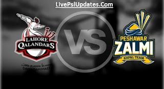 Match 6: Peshawar Zalmi vs Lahore Qalandars Watch Live