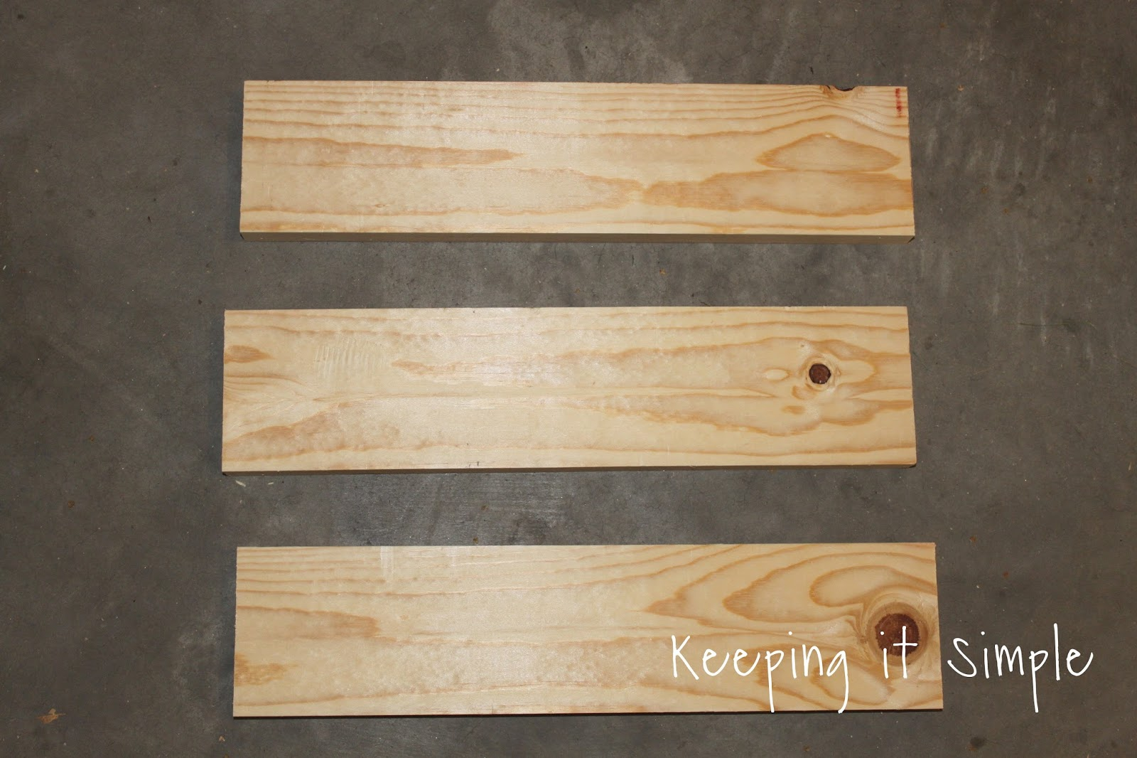 Keeping it simple rustic christmas decor diy wooden box
