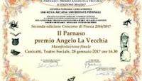 """PREMIO ANGELO LA VECCHIA : Poesia vincitrice: """"Ad un palmo dal tuo cuore"""" di Roberto Festa"""