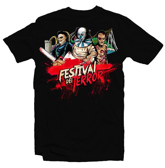 terror tshirt design