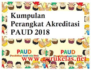 Perangkat Akreditasi PAUD 2018