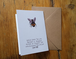 Bee drawing by Alice Draws The Line