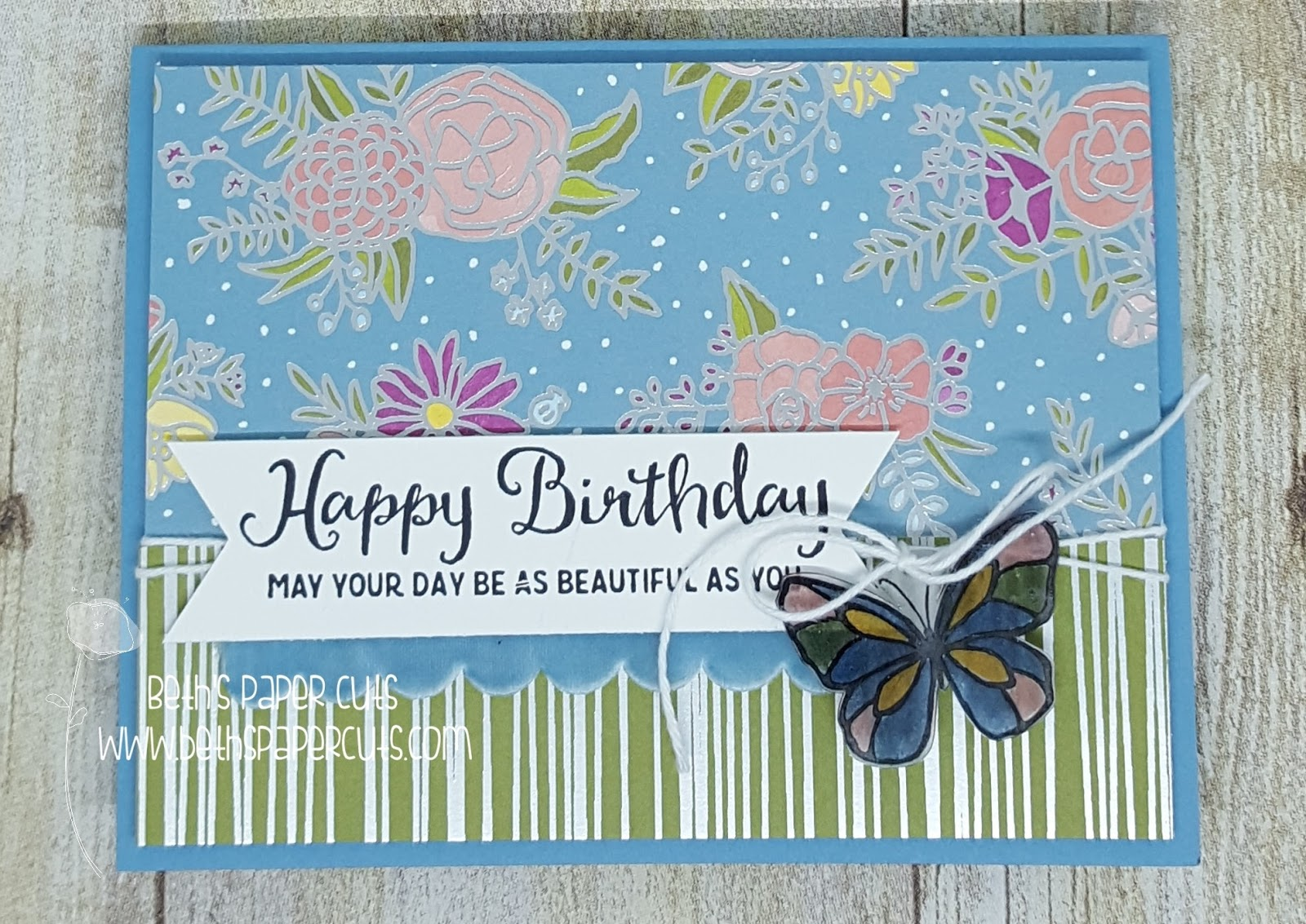 How to make a beautiful card by May 9