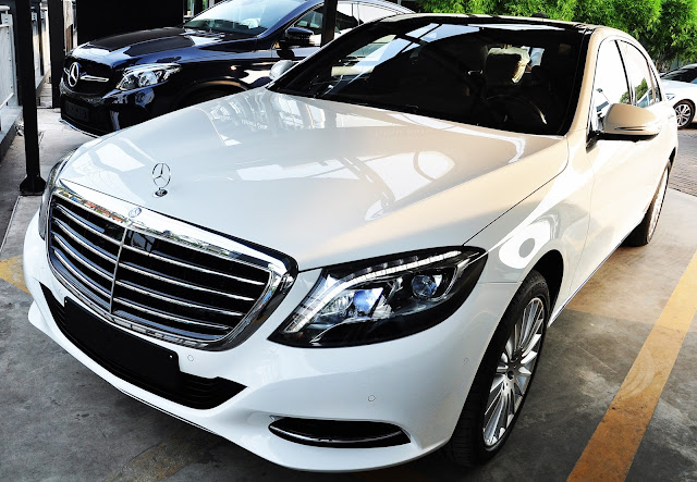 Mercedes S500 L 4MATIC là chiếc xe Sedan sang trọng đẳng cấp
