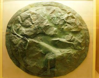 σπαρτιατική ασπίδα στο Μουσείο της Αρχαίας Αγοράς των Αθηνών