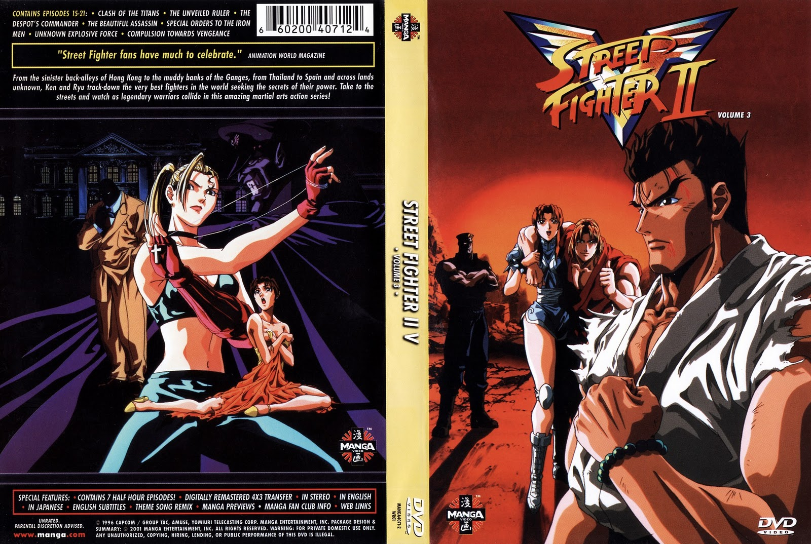 Street Fighter II: Victory Vol 3 Torrent – Dublado DVD-R Dual Áudio