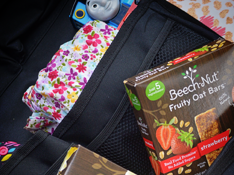 Mommy's Little Bag of Tricks: Diaper Bag Essential At All Ages {+ Baby & Toddler Snacks from Beech-Nut}