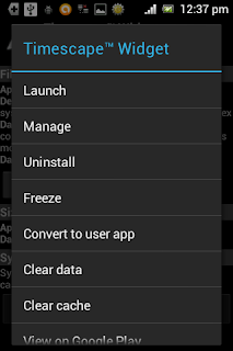Menghapus system app Android
