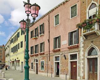 Luigi Nono was born in this house on Fondamenta Zattere al Ponte Longo, facing the wide Giudecca Canal
