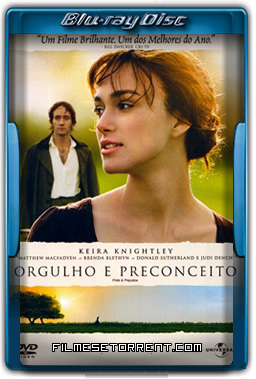 Orgulho e Preconceito Torrent 2005 720p BluRay Dublado