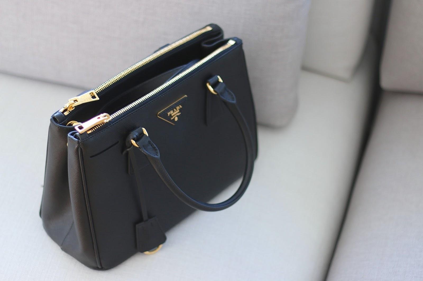 b85bd60678ad ... coupon code for prada saffiano double zip handbag review ed4f4 43445