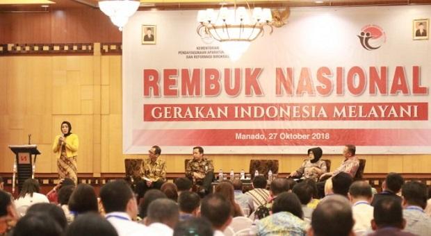 Peningkatan dan Perbaikan Layanan Kunci Utama Gerakan Indonesia Melayani