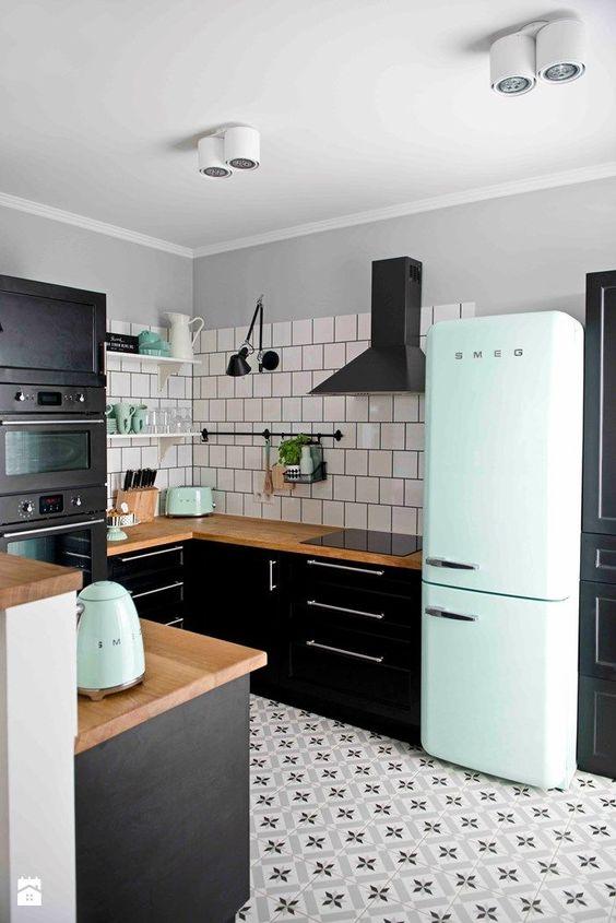 M3T - Decoração de Cozinhas Pretas