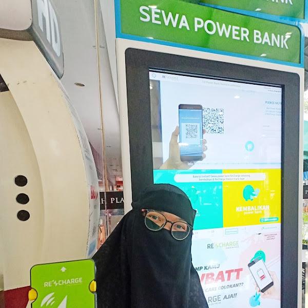 ReCharge : Aplikasi Sewa Power Bank Pertama di Indonesia