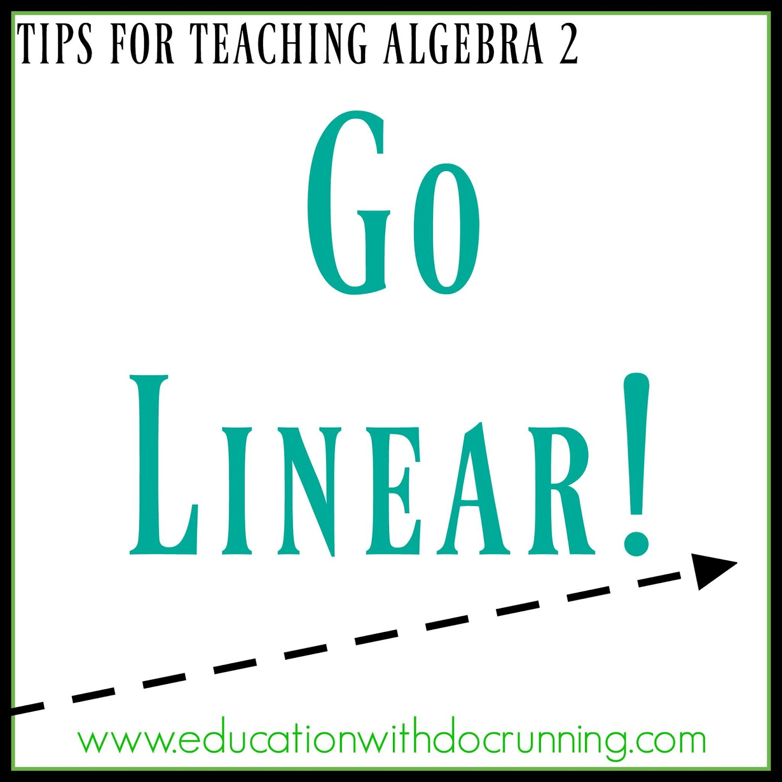 Math Mondays: Going linear in Algebra 2 | Education with DocRunning