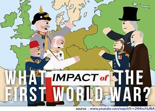 Dampak dari Perang Dunia 1, apa saja dampak Perang Dunia 1, Sebutkan Dampak Perang Dunia 1