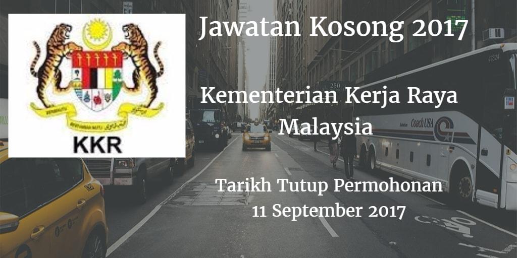 Jawatan Kosong KKR 11 September 2017
