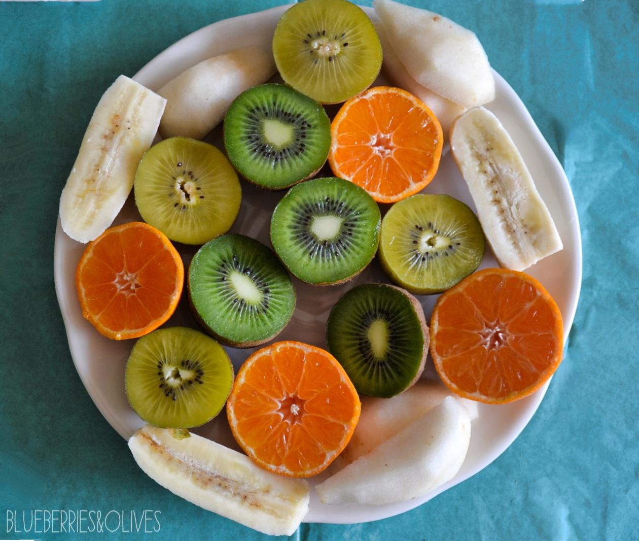 Ingredientes - Smoorhies de kiwi con piruletas 5