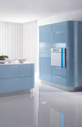 jubin dapur polished untuk dapur nampak luas