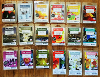ScentSationals Spring 2017 Scented Wax Melts