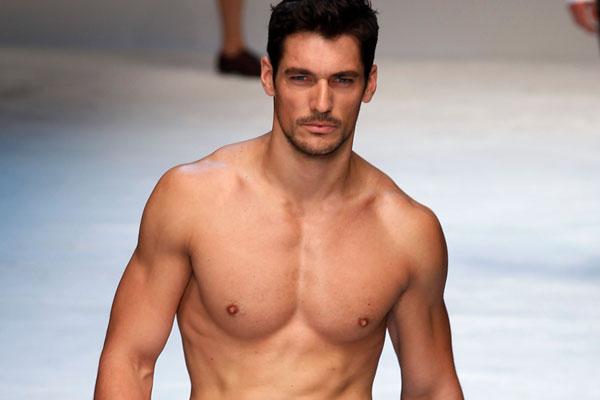 Fashion Model Body Men