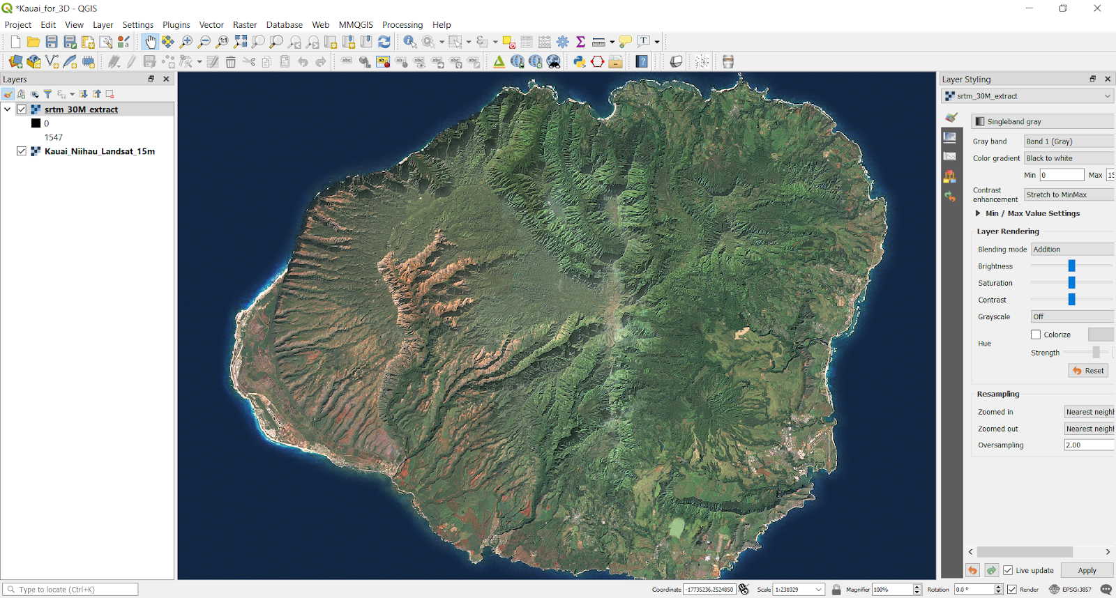 Stats, Maps n Pix: How to create an interactive 3D landscape