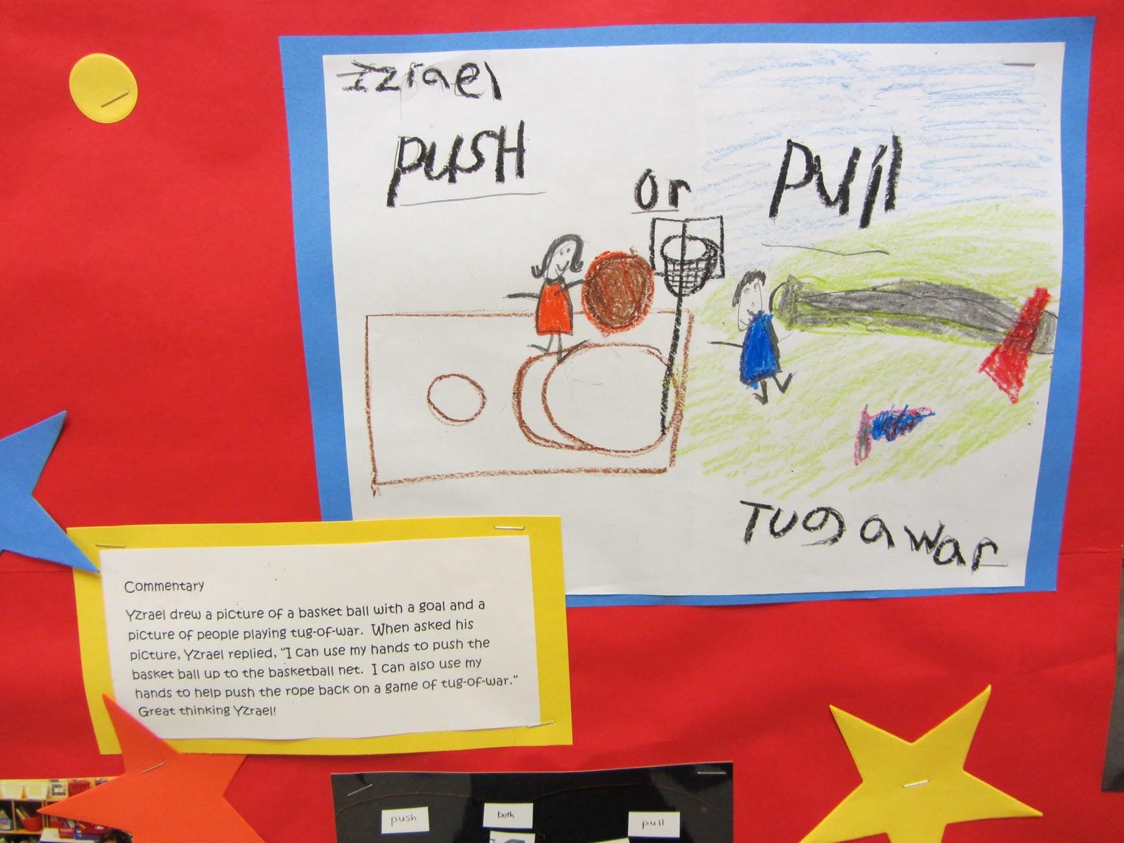 Push Or Pull Worksheet