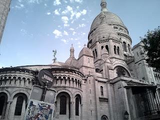 Montmartre. Basilique du Sacré-cœur