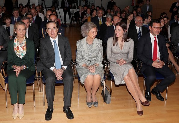 Queen Sofia and Infanta Elena attended scholarship presentation ceremony of the Reina Sofia Foundation