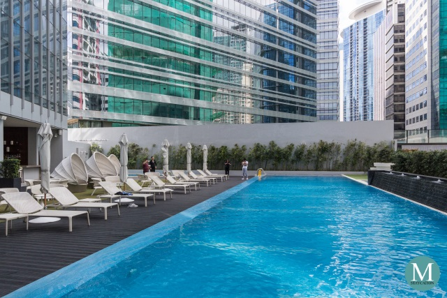 Swimming Pool of Ascott Bonifacio Global City Manila