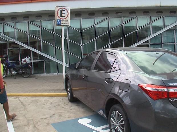 Vagas exclusivas de estacionamento serão fiscalizadas em São Luís