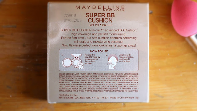 Maybelline Super BB Cushion 03 Natural Review Swatches India
