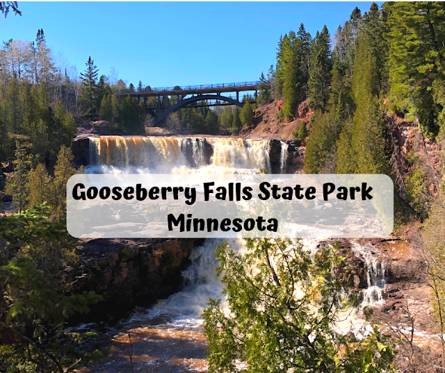 Hiking to Stunning Cascades at Gooseberry Falls State Park in Minnesota