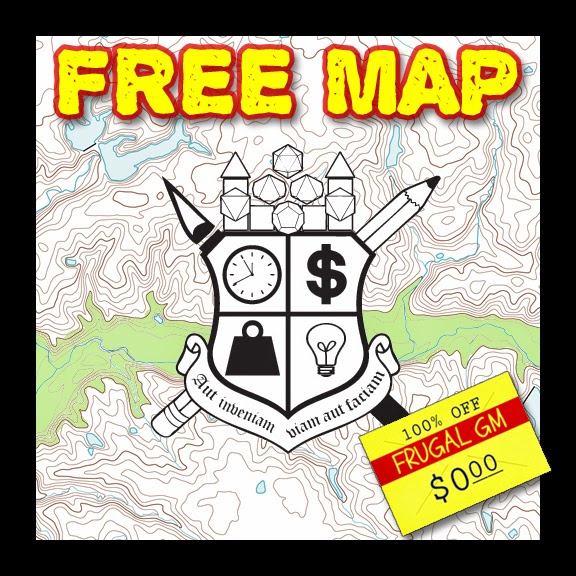 Free Map 039: Surprise, It's a River!